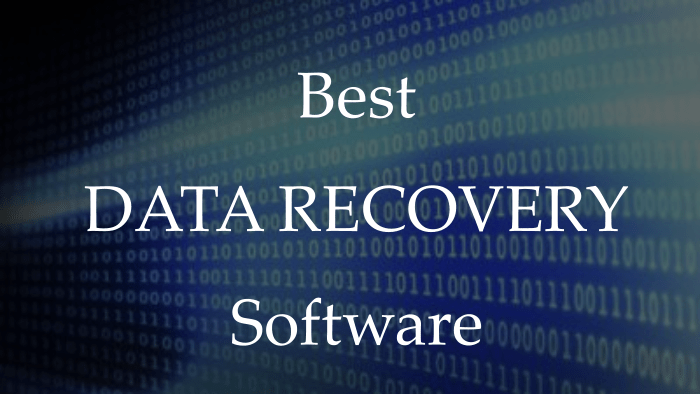 5 Best Software to recover data from hard disk / USB / SD Card (Free
