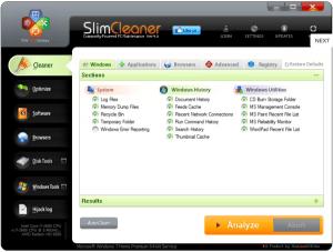 Slimware SlimCleaner Free