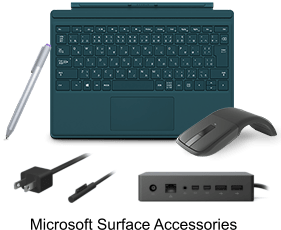 Microsoft Surface Accessories for Surface book and Surface Pro 4