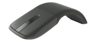 Surface arc touch mouse