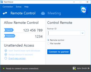 Team Viewer Remote Desktop Software