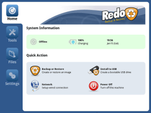 Redo backup and Recovery Free & Open source