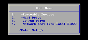 Windows Boot Menu
