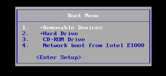 Windows Boot Menu