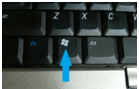 Windows button on keyboard