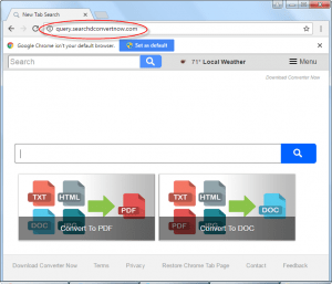 Searchdconvertnow by Mayway Homepage Image