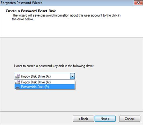 select pen drive