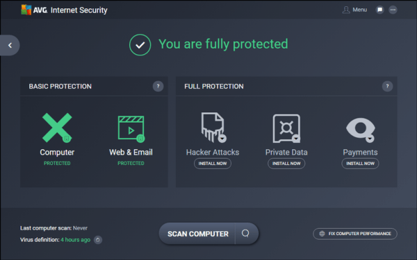 AVG 2017 Unlimited