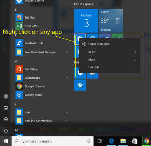 How you can customize Windows 10 Start Menu