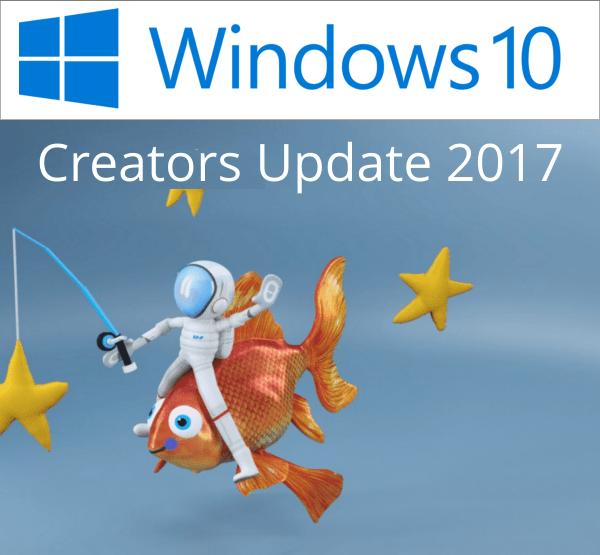 Windows 10 Creators Update 2017