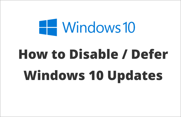 windows 10 how to stop all updates