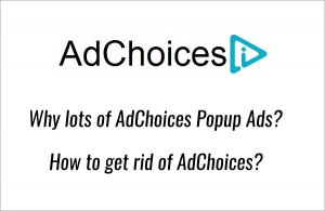 Adchoices Popup Ads