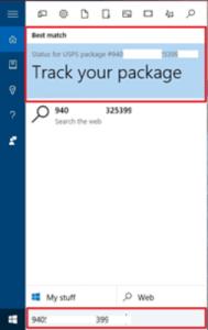 Cortana Track Package