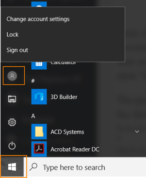 How to switch users in Windows 10