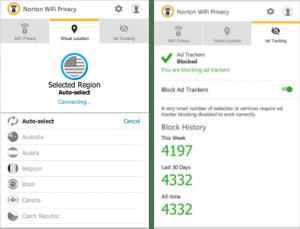 Norton Wi Fi Privacy VPN