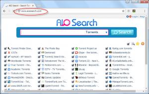 AIOSearch.com Hompeage Image
