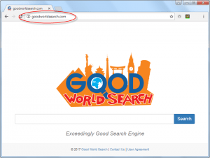 GoodWorldSearch.com Homepage Image