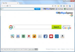 MyMapsExpressToolbar Image