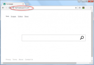 Startwebsearch.com Homepage Image