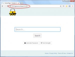 Strongpasswordsearch.com Homepage Image
