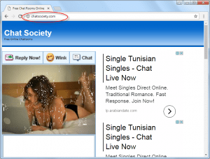 Chatsociety.com Homepage Image