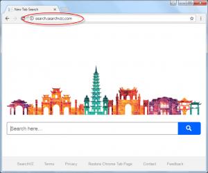 Search.searchvzc.com Homepage Image