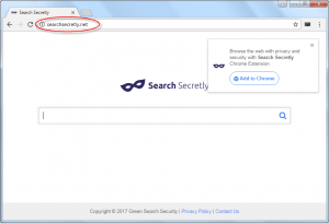 SearchSecretly.net Homepage Image