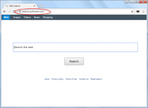 Search.pollicare.com Homepage Image