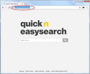 quickneasysearch.com homepage image