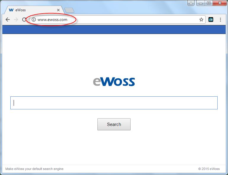 Ewoss.com Homepage Image