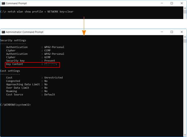 How to Find / Recover Forgotten WiFi Password in Windows 10 - Tech