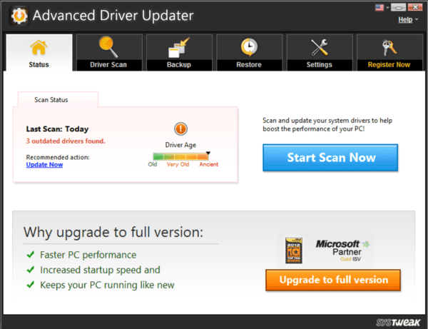 systweek advance driver updater