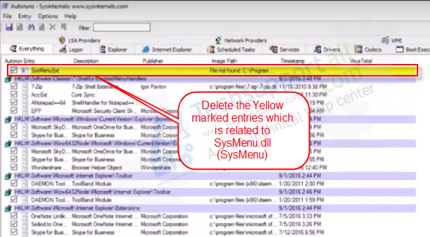How to Fix SysMenu dll error quickly (in Windows 10, 8 1, 7