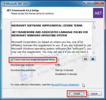 .NET Framework 4.6.2 installation pic1