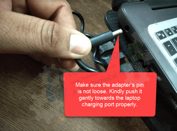 check-adapter's-pin-and-port