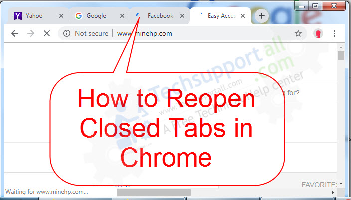 How To Reopen Closed Tabs In Google Chrome Restore Tabs Tech Support All