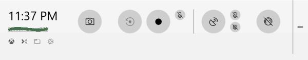Game bar in Windows 10
