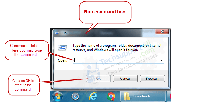Run command Window
