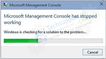fix Microsoft Management Console has stopped working issue