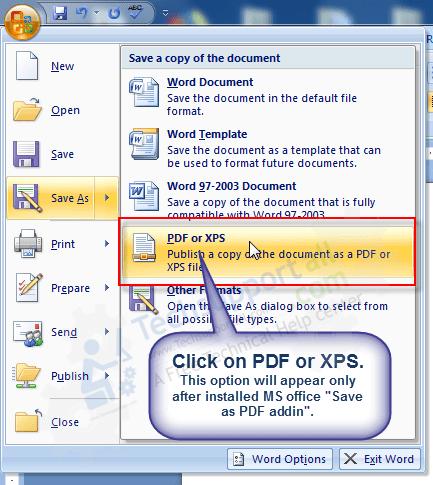 ms word save as pdf step4