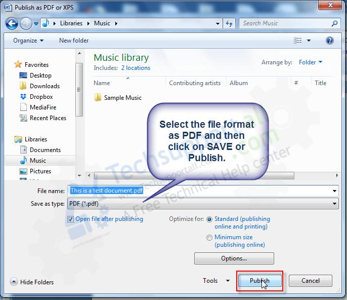 ms word save as pdf step5