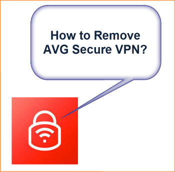 remove AVG secure VPN