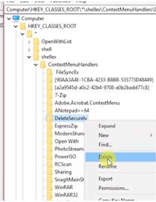 Fix run as administrator issue through registry step4