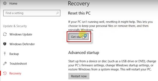 Reset PC step2