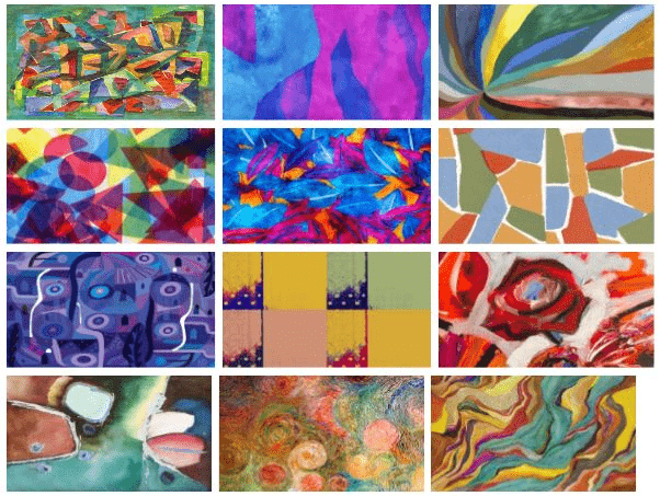 Abstract Art Windows 10 theme