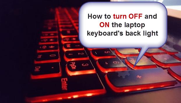 Keyboard's Backlight