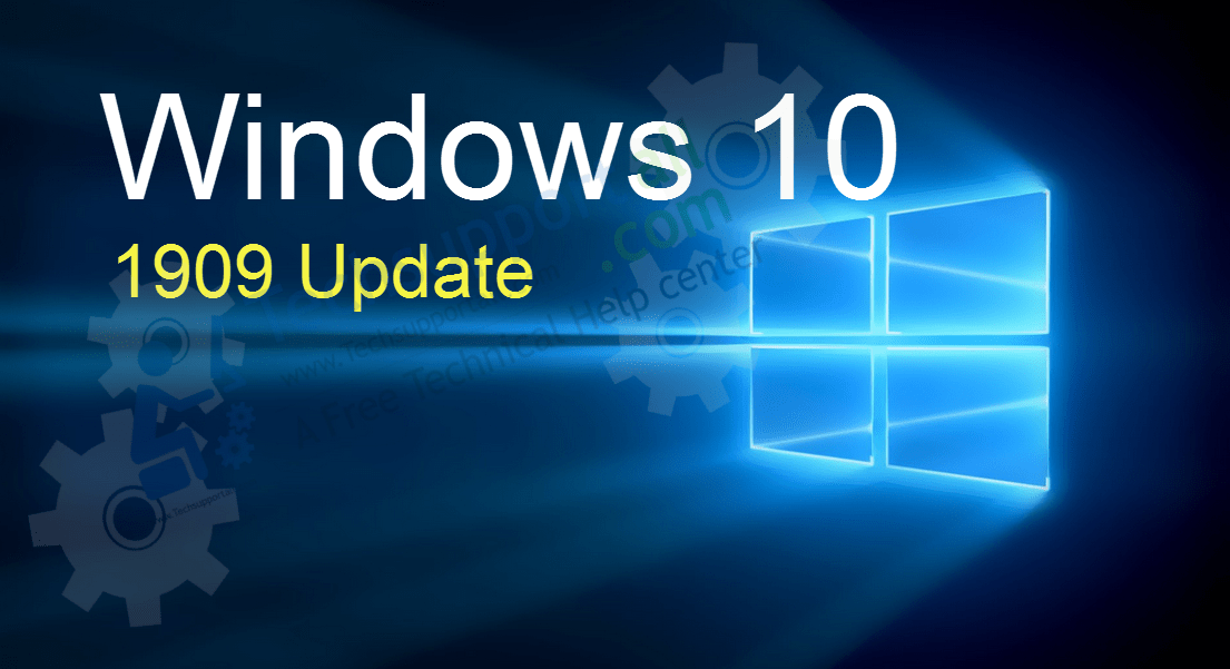 Windows 10 1909 update features