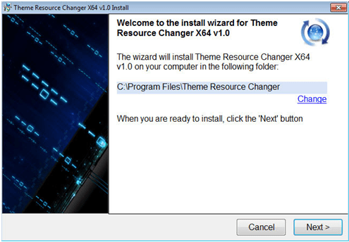 Windows 10 theme resource changer