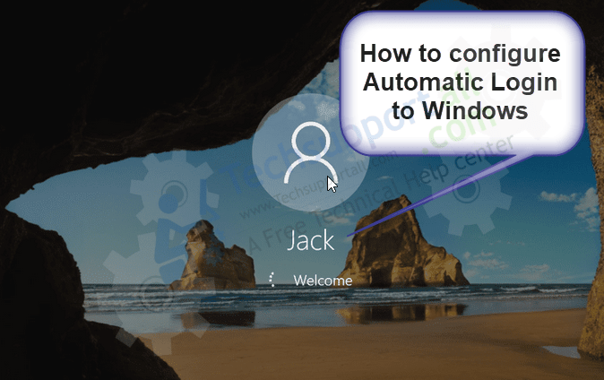 How to configure Automatic Login to Windows 10