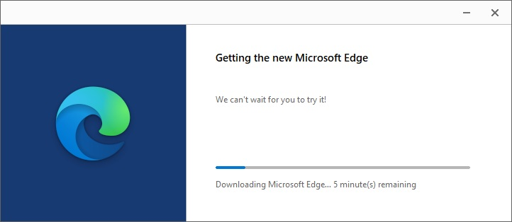 How to install new Edge